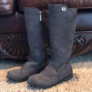 Girls Michael Kors tall boots. Size 13